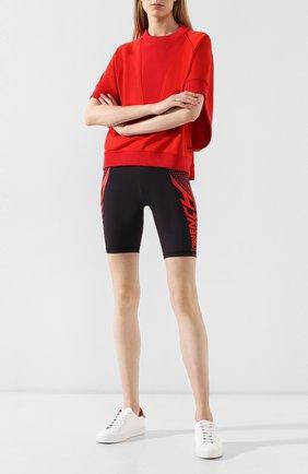Женские шорты GIVENCHY красного цвета, арт. BW50D930E8 | Фото 2