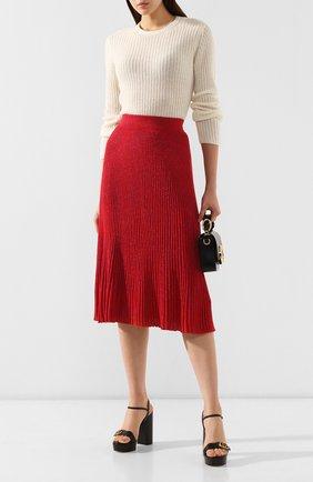 Женский кашемировый пуловер MARNI белого цвета, арт. GCMD0125Q0/FX391 | Фото 2