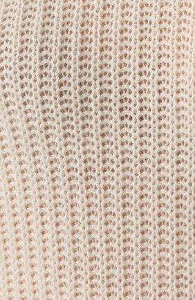 Женский кашемировый пуловер MARNI белого цвета, арт. GCMD0125Q0/FX391   Фото 5