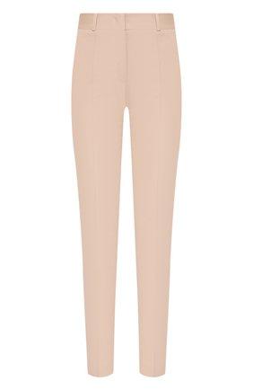 Женские хлопковые брюки LORO PIANA светло-розового цвета, арт. FAI8366   Фото 1
