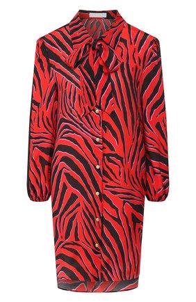 Женское платье из смеси вискозы и шелка ESCADA SPORT красного цвета, арт. 5029843 | Фото 1