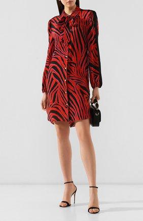 Женское платье из смеси вискозы и шелка ESCADA SPORT красного цвета, арт. 5029843 | Фото 2