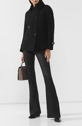 Женское шерстяное пальто TOM FORD черного цвета, арт. CS1043-FAX211 | Фото 2