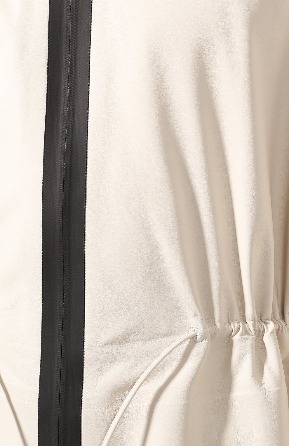 Мужской кожаный плащ BOTTEGA VENETA белого цвета, арт. 577513/VF3E0   Фото 5