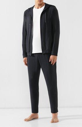 Мужские брюки DEREK ROSE темно-серого цвета, арт. 9403-MARL001 | Фото 2