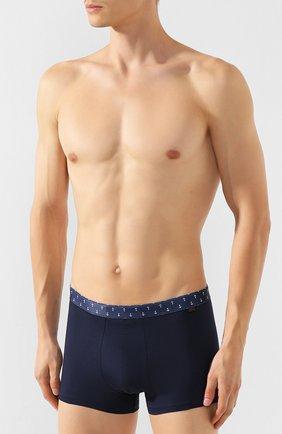 Мужские хлопковые боксеры DEREK ROSE темно-синего цвета, арт. 8635-BAND044 | Фото 2