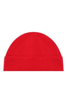 Детского шерстяная шапка GUCCI красного цвета, арт. 459431/4K638 | Фото 2