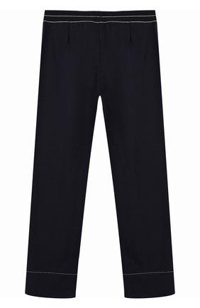 Детские брюки из вискозы ALETTA синего цвета, арт. AF999403/9A-16A   Фото 2