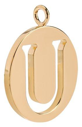 Женские подвеска для сумки alphabet key CHLOÉ золотого цвета, арт. CHC15WK00UCB79DA | Фото 2