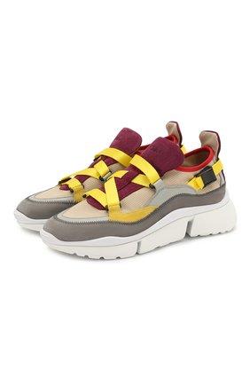 Комбинированные кроссовки Sonnie | Фото №1