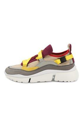 Комбинированные кроссовки Sonnie | Фото №3