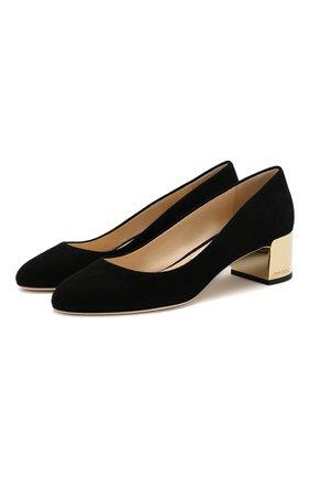 Замшевые туфли Jessie 40 | Фото №1