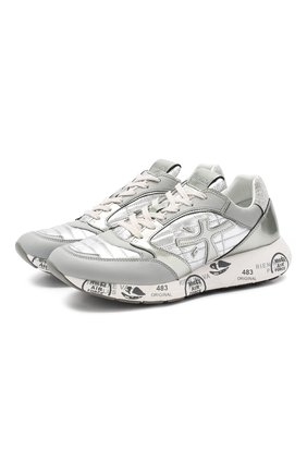 Комбинированные кроссовки Zac-Zac | Фото №1
