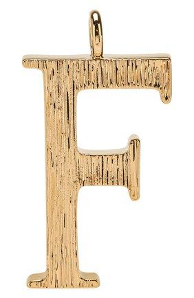 Женские подвеска для сумки alphabet key CHLOÉ золотого цвета, арт. CHC15WK00FCB79DA | Фото 1