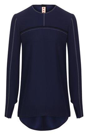 Женская блузка MARNI синего цвета, арт. CAMA0229I0/TV285 | Фото 1
