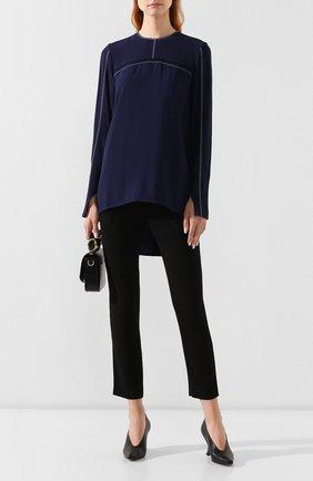 Женская блузка MARNI синего цвета, арт. CAMA0229I0/TV285 | Фото 2