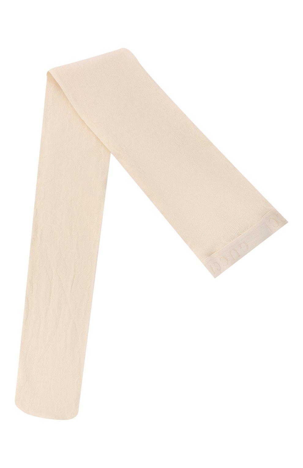 Женские колготки GUCCI бежевого цвета, арт. 464684/3G245 | Фото 1