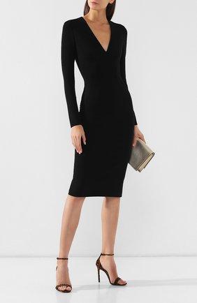 Женское платье TOM FORD черного цвета, арт. ABJ044-FAX021 | Фото 2