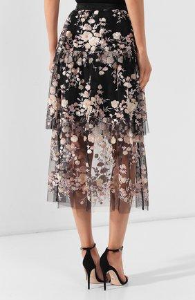 Женская юбка-миди SELF-PORTRAIT разноцветного цвета, арт. SP22-117 | Фото 4