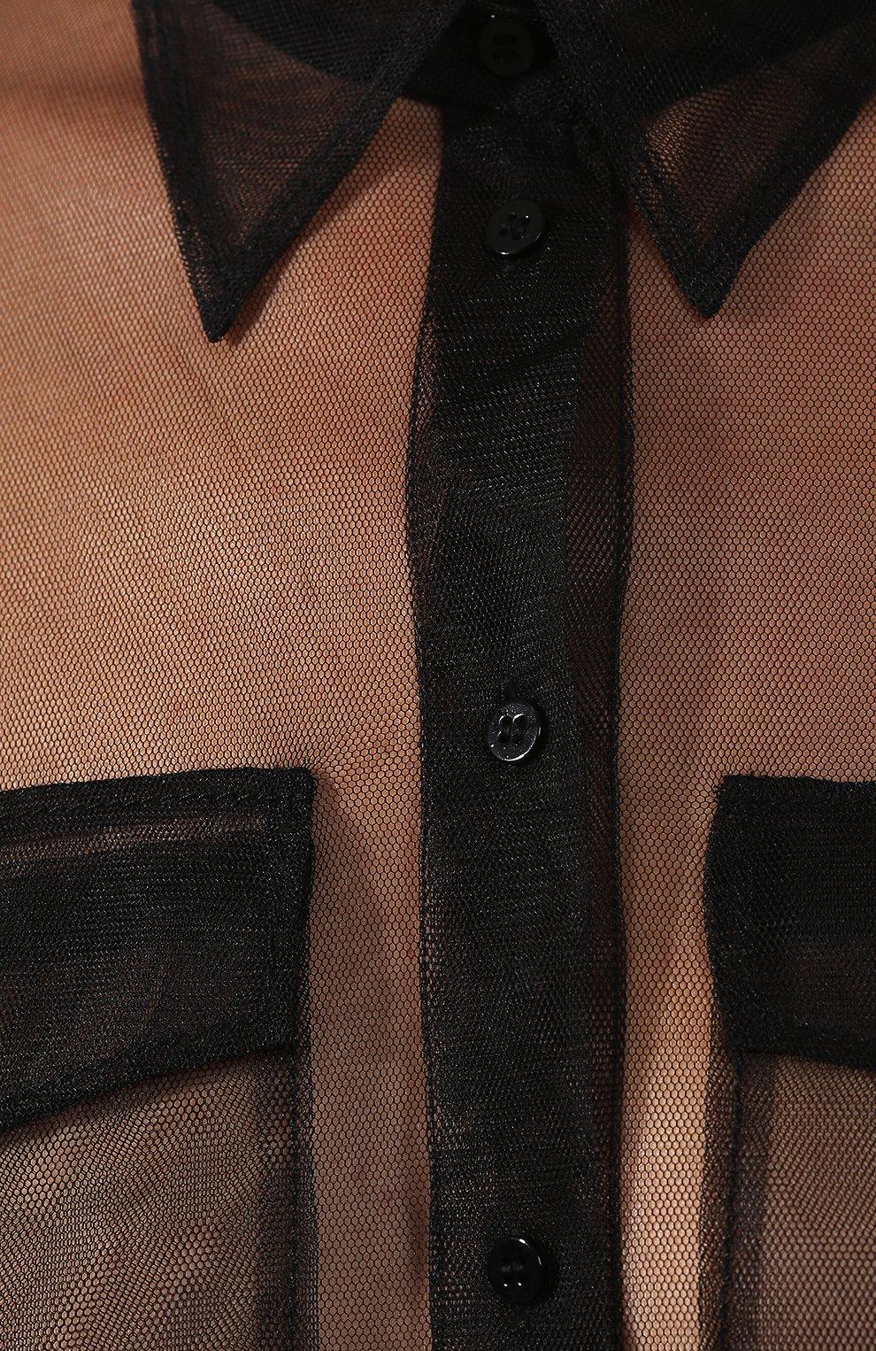 Блузка Dorothee Schumacher черная   Фото №5