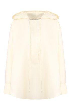 Блузка с капюшоном | Фото №1