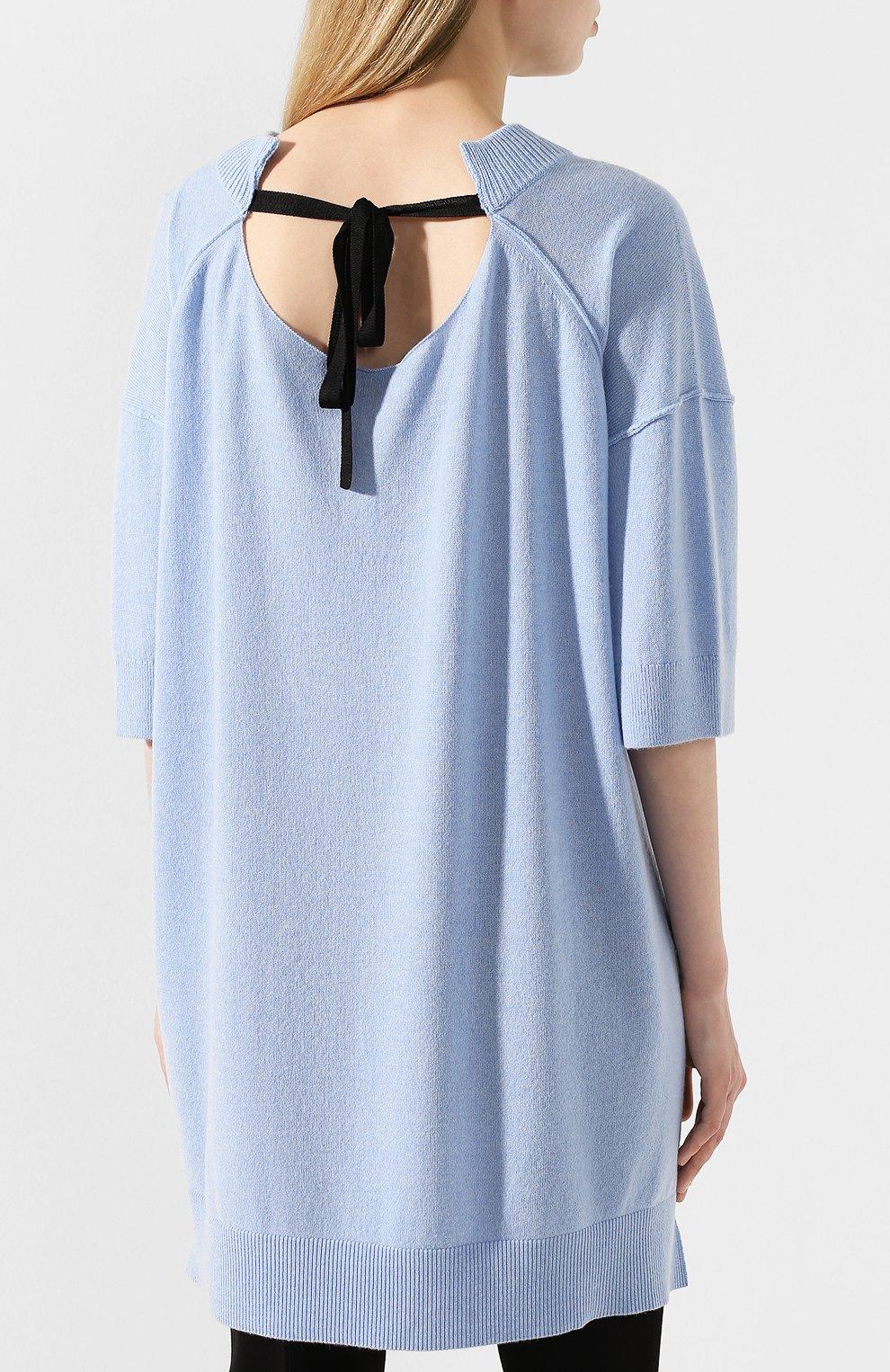 Пуловер из смеси шерсти и кашемира | Фото №4