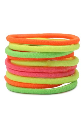 Детская комплект из 10-ти резинок bright xs JUNEFEE разноцветного цвета, арт. 4191 | Фото 1