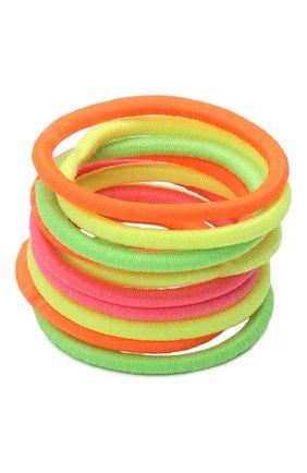 Детская комплект из 10-ти резинок bright xs JUNEFEE разноцветного цвета, арт. 4191 | Фото 2