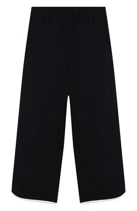 Детского брюки свободного кроя MONNALISA синего цвета, арт. 714402 | Фото 2