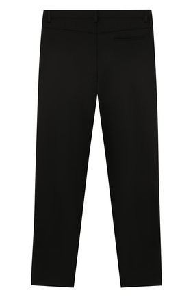 Детские брюки ALETTA черного цвета, арт. AMC999495N/4A-8A   Фото 2