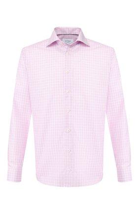 Мужская хлопковая сорочка ETON розового цвета, арт. 3457 79573 | Фото 1