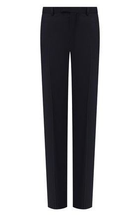 Мужской шерстяные брюки Z ZEGNA темно-синего цвета, арт. 6ZF089/7FSAC2   Фото 1