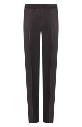Мужской шерстяные брюки ERMENEGILDO ZEGNA серого цвета, арт. 612F08/75F812 | Фото 1