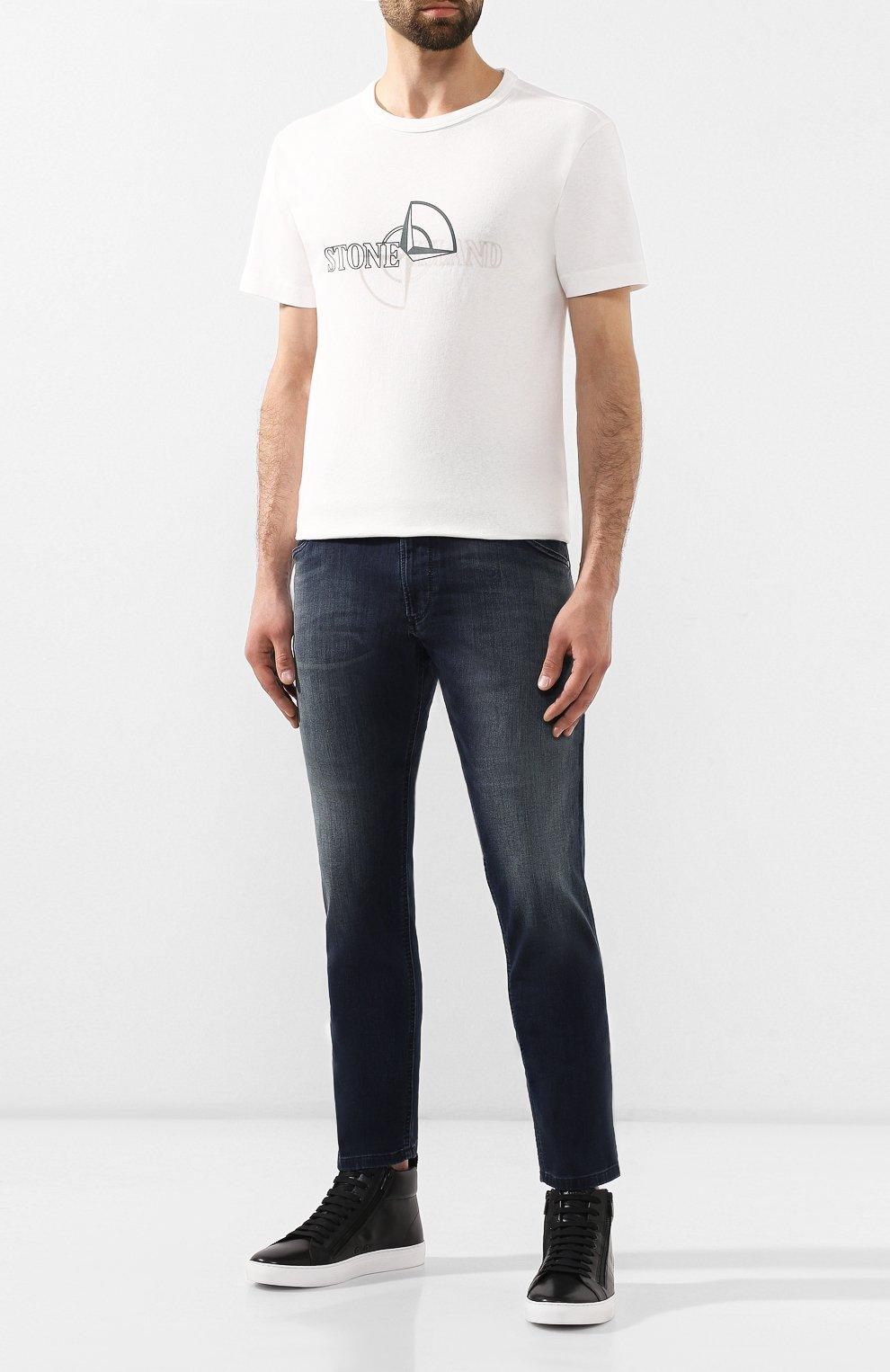 Мужские джинсы DIESEL синего цвета, арт. 00SU3F/069HH | Фото 2