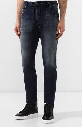 Мужские джинсы DIESEL синего цвета, арт. 00SU3F/069HH | Фото 3