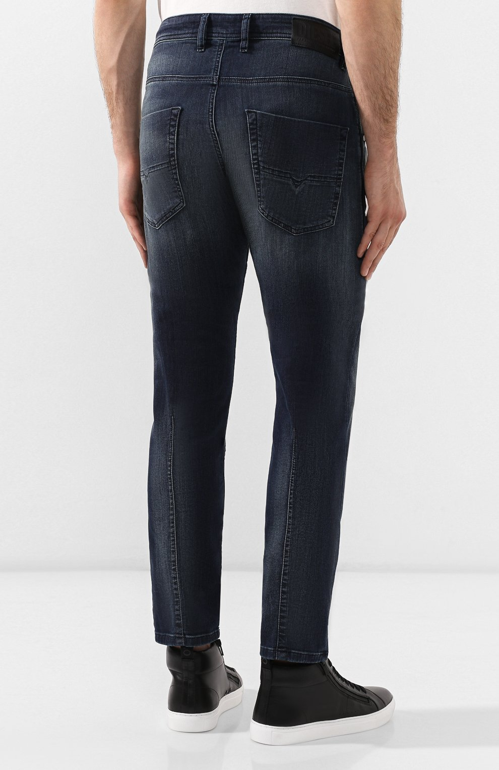Мужские джинсы DIESEL синего цвета, арт. 00SU3F/069HH | Фото 4