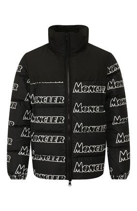 Мужская пуховик faiveley MONCLER черного цвета, арт. E2-091-41326-85-539NE | Фото 1