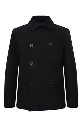 Мужской шерстяное пальто PAUL&SHARK темно-синего цвета, арт. C0P2004 | Фото 1