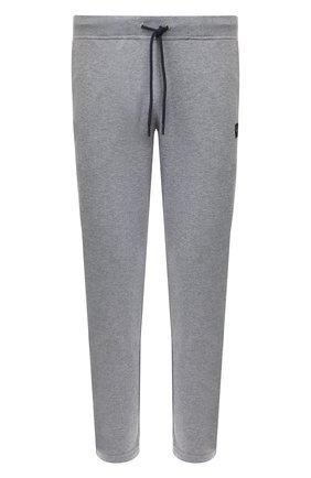Мужской хлопковые брюки PAUL&SHARK серого цвета, арт. C0P1062 | Фото 1