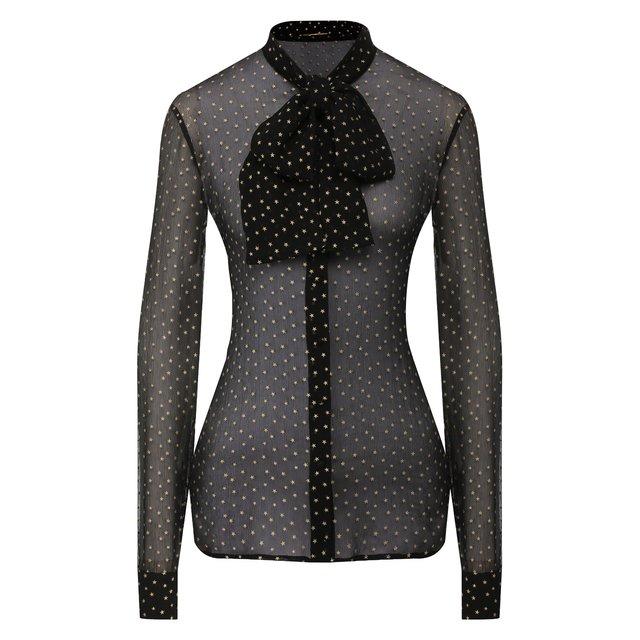 Шелковая блузка Saint Laurent