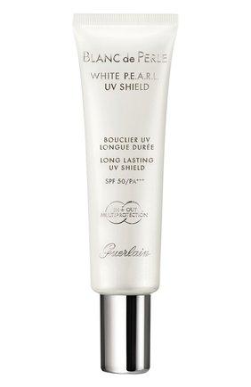 Женское дневное защитное средство для лица blanc de perle white p.e.a.r.l. spf50 GUERLAIN бесцветного цвета, арт. G061434 | Фото 1