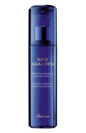 Женский увлажняющий лосьон для лица super aqua-lotion GUERLAIN бесцветного цвета, арт. G061495 | Фото 1
