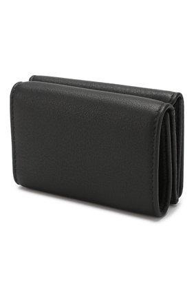 Женские кожаное портмоне everyday BALENCIAGA черного цвета, арт. 551921/DLQ4N | Фото 2