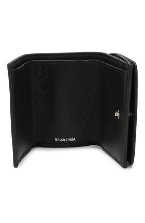 Женские кожаное портмоне everyday BALENCIAGA черного цвета, арт. 551921/DLQ4N | Фото 3