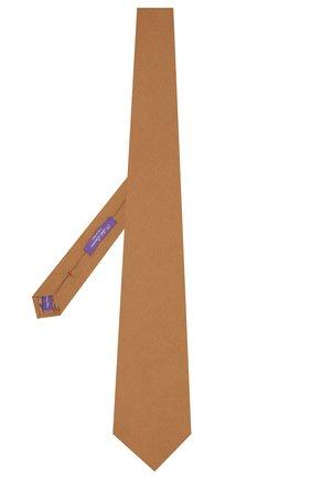Женский кашемировый галстук RALPH LAUREN коричневого цвета, арт. 434777366 | Фото 2