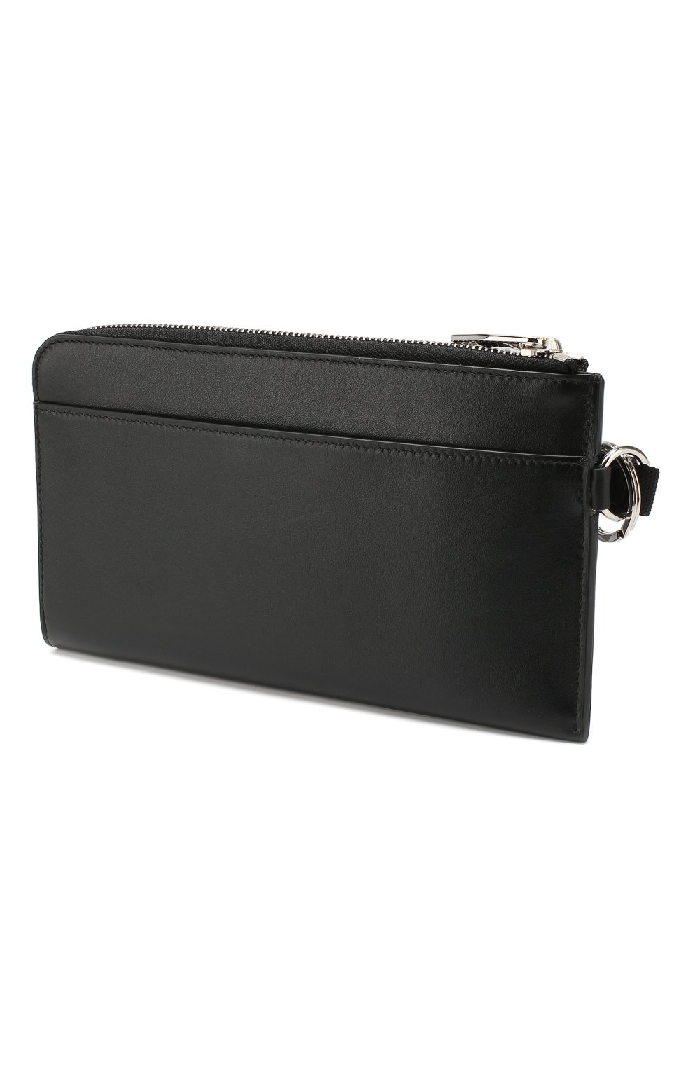 Мужской кожаный футляр ALEXANDER MCQUEEN черного цвета, арт. 575777/1IG3N | Фото 2