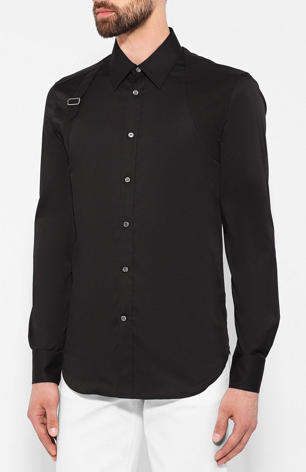 Хлопковая рубашка   Фото №3