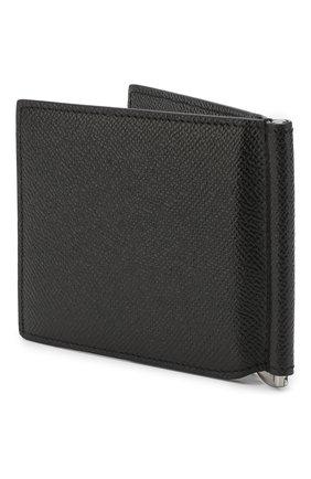 Мужской кожаный зажим для денег DOLCE & GABBANA черного цвета, арт. BP1920/AZ602 | Фото 2