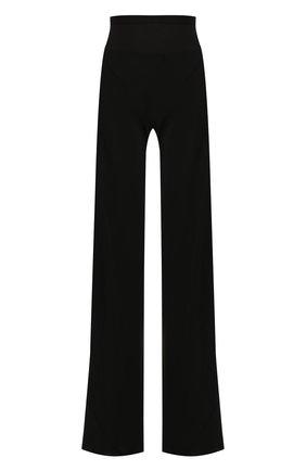 Женские расклешенные брюки RICK OWENS черного цвета, арт. RP19F5301/CC   Фото 1