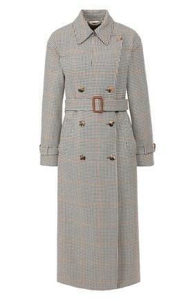 Женское шерстяное пальто LORO PIANA бежевого цвета, арт. FAI7828   Фото 1